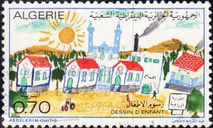 Algeria #515 Used