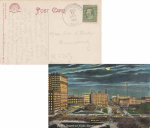 United States Ohio Brecksville 1909 doane 2/4  1879-1960  PPC (Public Square ...