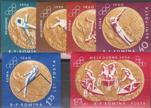 Romania #1452-57 MNH  Imperf  CV $5.00 (S6962)