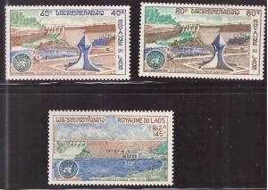 LAOS Scott 228-229, C88 MH* Dam Project 1972 set