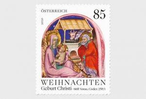 2020 Austria Birth of Christ (Scott NA) MNH