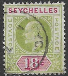 Seychelles  57    18c   fine used