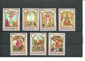 Equatorial Guinea MNH Set Easter 1974