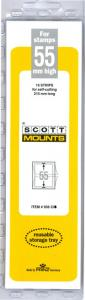 Scott Mounts Clear 55mm STRIP 215, (Pgk. 15) (00936C)