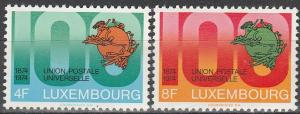 Luxembourg #551-2 MNH F-VF (V1904)