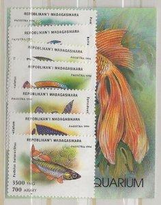 Madagascar  Dollar Special 1192-1199 nh