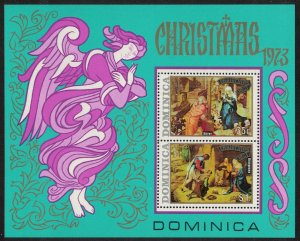 Dominica Christmas Religious Paintings MS SG#MS404