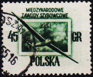Poland. 1954 45g S.G.856 Fine Used