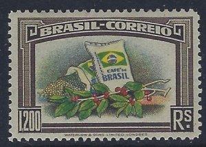 Brazil, Scott #452; 1200r Brazilian Coffee, MLH