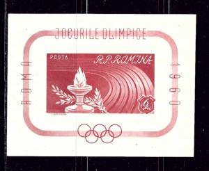 Romania 1338 MNH 1960 Olympics S/S
