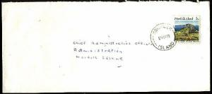 NORFOLK IS 1989 local 5c rate cover........................................94337