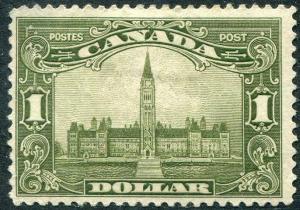 HERRICKSTAMP CANADA Sc.# 159 Mint Hinged Thin. Scott Retail $300.00
