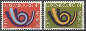 Luxembourg #523-4  MMH   (S6941)