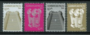 Azerbaijan 2019 MNH Architecture Definitives 4v Set Stamps
