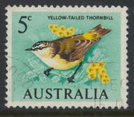 Australia  Sc# 400  Definitive Decimal Currency 1966  Bird   Used