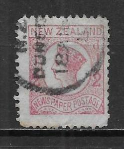 New Zealand P3 Newspaper stamp single Used (z2)