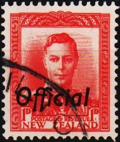 New Zealand. 1938 1d(Official) S.G.O136  Fine Used