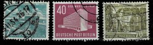 # 9N108 - 110 used  Berlin buildings