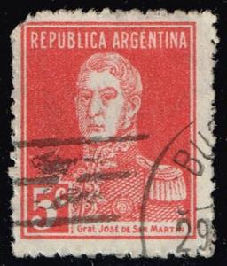 Argentina #345 Jose de San Martin; Used (0.30)
