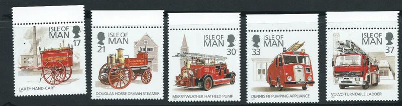 Isle of Man MUH SG 485 - 489 Margin copy