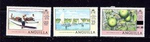 Anguilla 319-21 MNH 1978 set