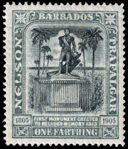 Barbados  - Scott 102 - Mint-Hinged - Crease