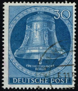 Germany #9N97 Freedom Bell; Used (3Stars)