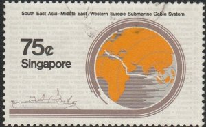 Singapore,  #494 Used  From 1986