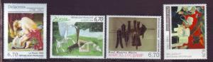 J20352  jlstamps 1998 france set mnh #2639-42 art