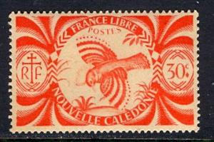 New Caledonia; 1942: Sc. # 255: */MH Single Stamp