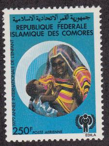 Comoros Isl. # C108, Year of the Child, Mint NH, 1/2 Cat