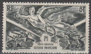 French Guiana #C16 F-VF Unused  (V4106)