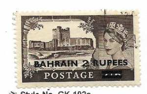 BAHRAIN, 96, USED,GREAT BRITAIN STAMPS SURCHD