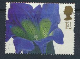 Great Britain SG 1955  Used  - Greetings Flower Paintings