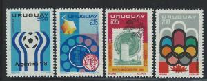 URUGUAY #  938 - 41  MNH