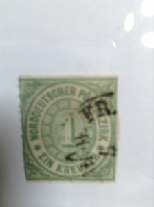 Germany  (North German Conf) SC #7  Used