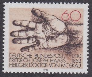 Germany # 1335, Dr. Haass - Helping Hand, NH, 1/2 Cat.