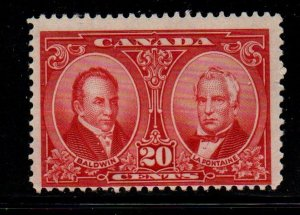 Canada Sc 148 1927 20c Baldwin & Lafontaine stamp mint NH