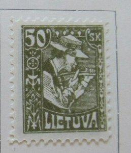A11P4F17 Litauen Lituanie Lithuania 1921-22 50sk MH*