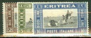 C: Eritrea 119-128 mint CV $126.25; scan shows only a few
