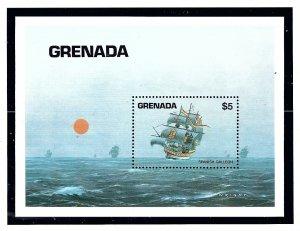 Grenada 1199 MNH 1984 Ships  S/S   (KA)