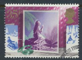 Great Britain  SG 1419 SC# 1238 Used / FU with First Day Cancel - Christmas 1988
