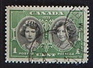 Canada, 1939, Royal Visit, (2040-T)