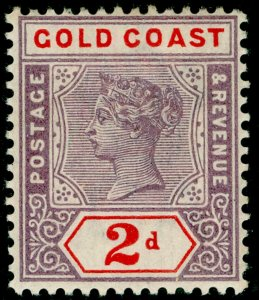 GOLD COAST SG28, 2½d dull mauve & ultramarine, LH MINT. Cat £50.