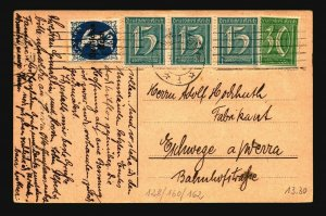 Germany 1922 Inflation Postcard  - Z17144