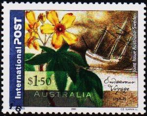 Australia. 2001 $1.50 S.G.2135 Fine Used