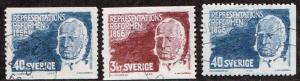 Sweden # 701 - 703 U