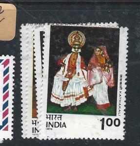 INDIA    (PP2807B)  DANCERS  SG 779-782   MNH