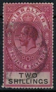 Gibraltar #86  CV $40.00