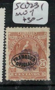 El Salvador SC O231 MOG (5eej)